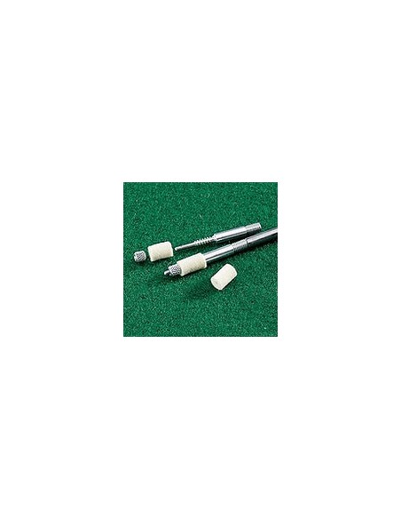 VFG adapter for drilled felts (for others brand of rod, Internal thread M2.5 and M5)