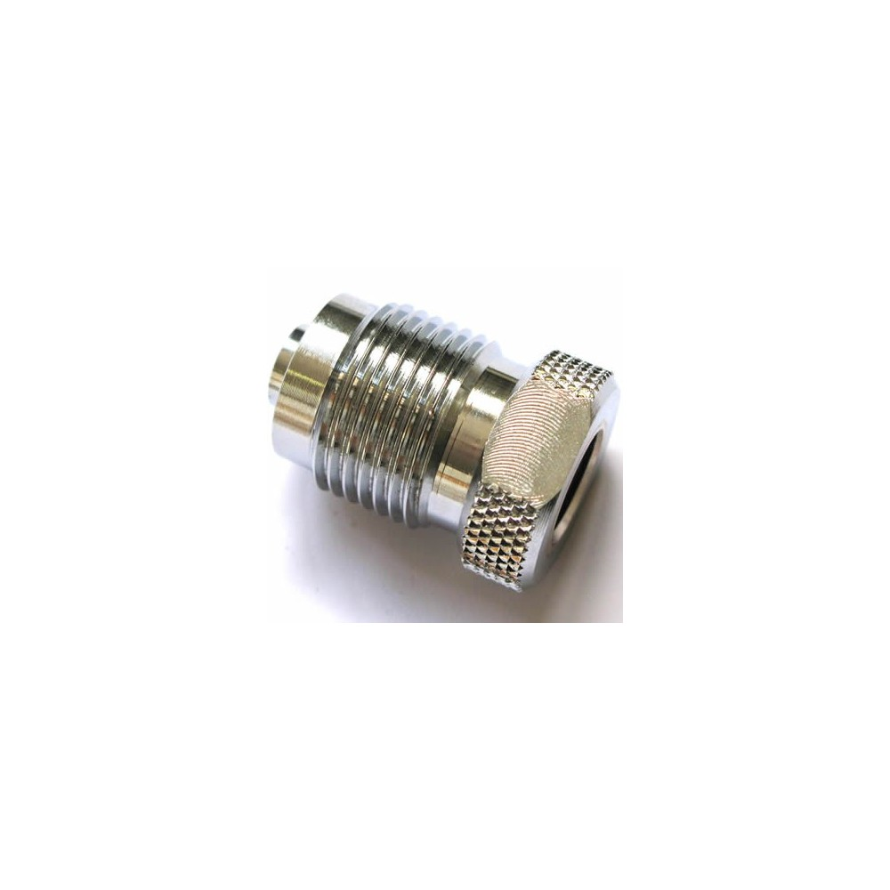 "Converter to 5/8"" male a 1/4"" female"