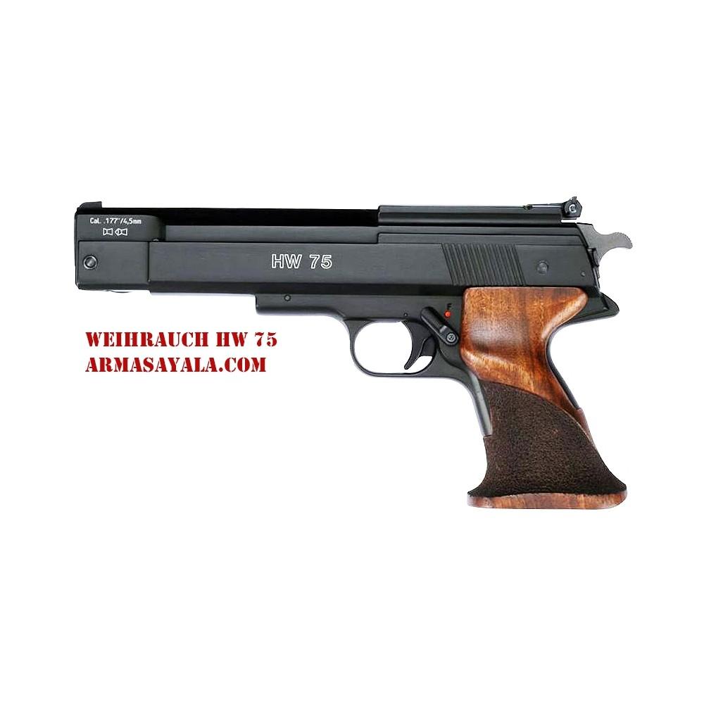 Weihrauch HW 75 Match Pistol