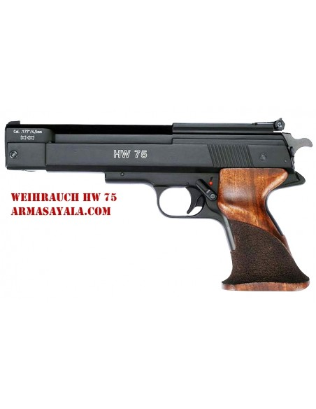 Weihrauch HW 75 (Especial 10 metros ISSF)