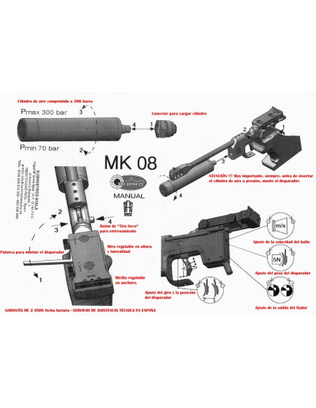 Pistola TAU Mk 8 MATCH