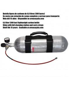 BOTELLA DE CARBONO DE 6,8 Litros